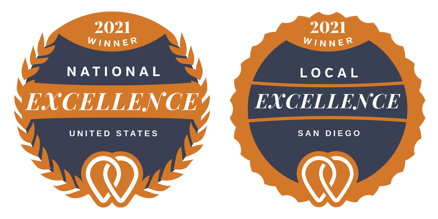 MaxAudience San Diego and New York are 2021 UpCity Excellence Award Winners